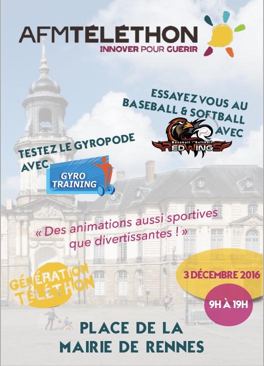 Telethon Rennes 2016