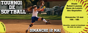 Tournoi Softball outdoor