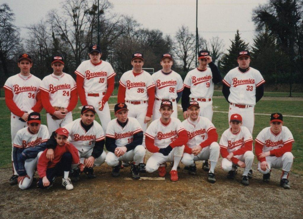 Seniors Baseball Régional Rennes 97