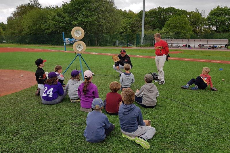 stage enfants baseball