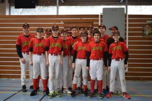 Photo d'équipe des Redwings
